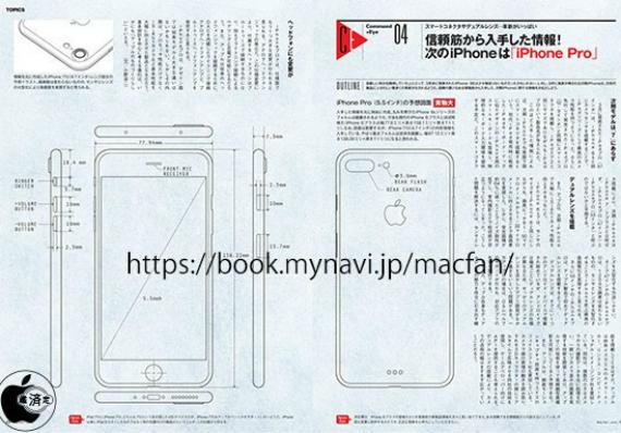 iPhone 7 Plus: Σχέδια δείχνουν dual-camera και Smart Connector