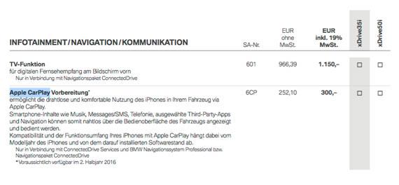 BMW-leaked-price-list-CarPlay-570