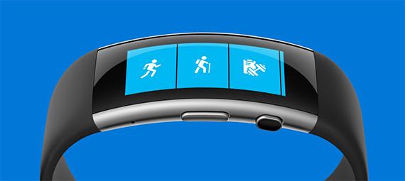Microsoft Band blue 570