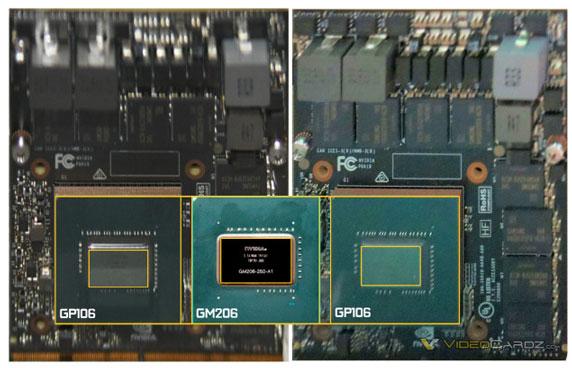 NVIDIA Pascal GP106 GPU 570