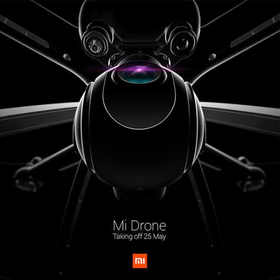 Xiomi Mi Drone  teaser