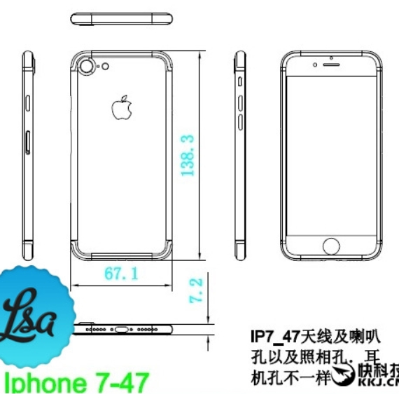 iphone 7 diagram