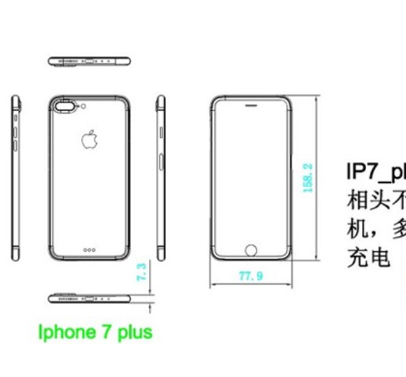 iphone 7 plus diagram