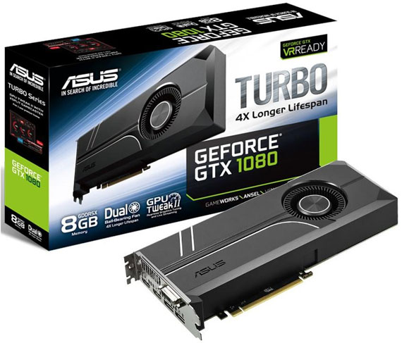 Asus Turbo GeForce GTX 1080 1 570