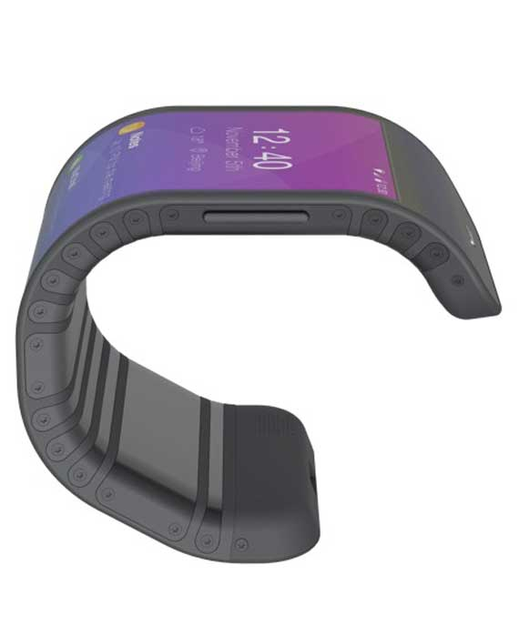 Lenovo flexible smartphone 570