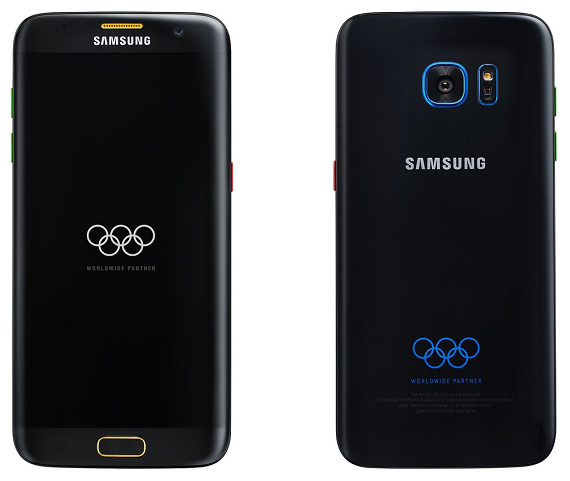 Samsung Galaxy S7 edge Olympic Edition: Διέρρευσαν press renders