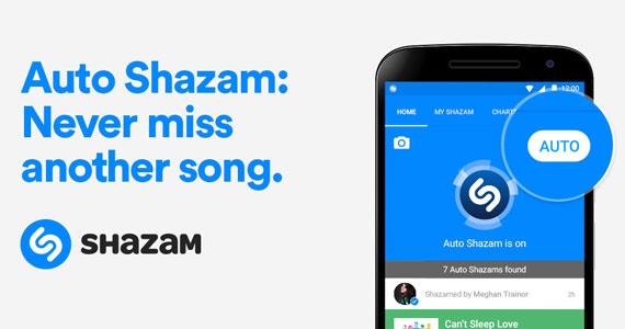 Shazam auto 570
