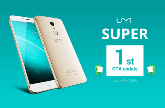 UMi Super 1st OTA update