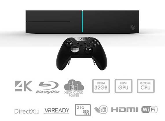 Xbox Scorpio 570