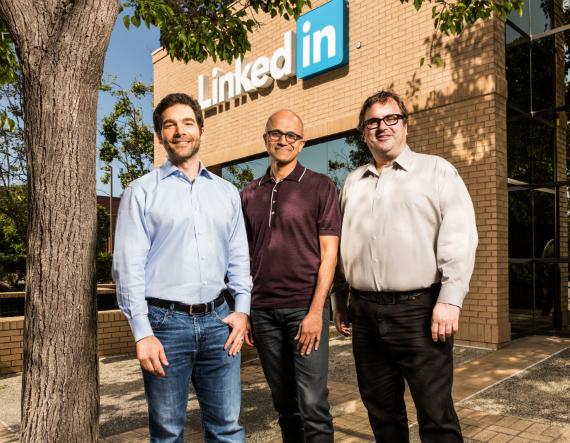 Microsoft: Εξαγοράζει το LinkedIn για 26.2 δισ. δολάρια Microsoft-linkdin-570