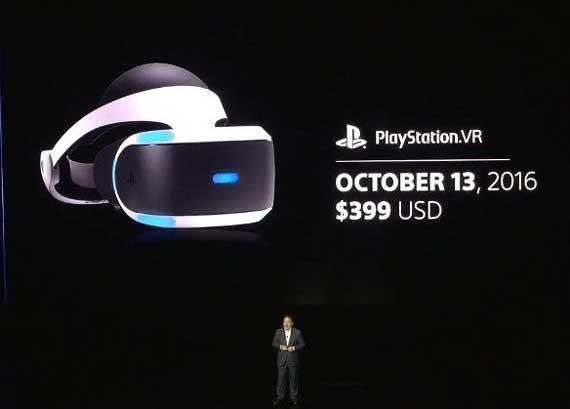 PlayStation VR: Ανακοινώθηκε η ημερομηνία κυκλοφορίας και η τιμή του Ps-vr-e3-570