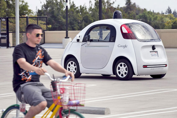 Google Self Driving Cars Bicycle 570