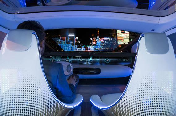 Mercedes-Benz F 015 interior