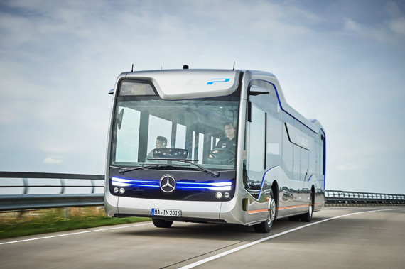 Mercedes-Benz Future Bus with CityPilot