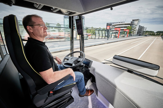 Mercedes-Benz Future Bus with CityPilot driver