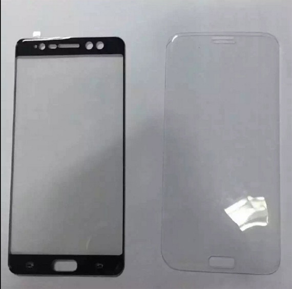 Samsung Galaxy Note 7 front panel
