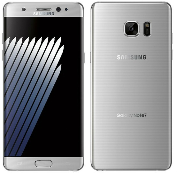 Samsung Galaxy Note 7 renders