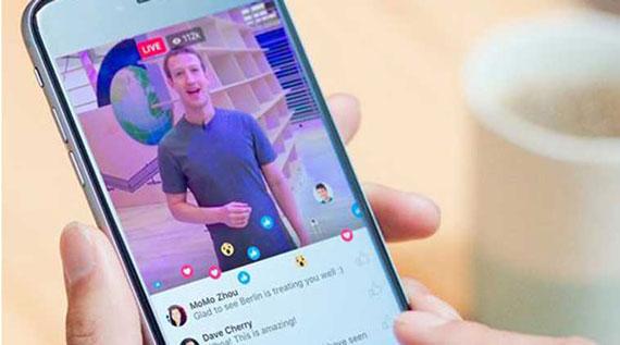 Facebook live stream service
