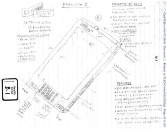 patent application