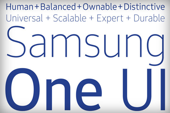 SamsungOne font