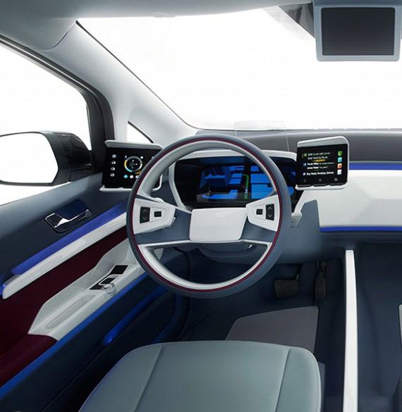 smart car concept 2020