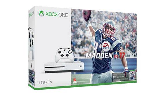 Xbox One S Madden NFL 17