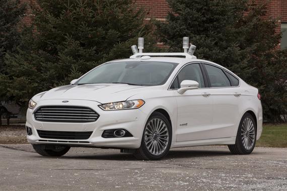 Ford Fusion autonomous cars