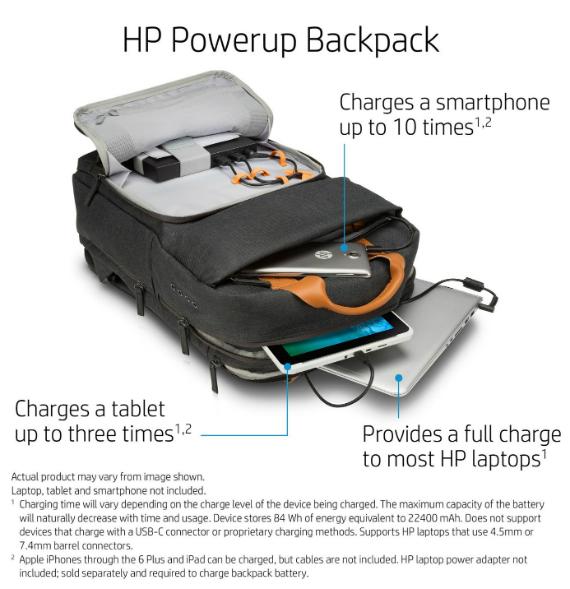 HP Powerup Backpack
