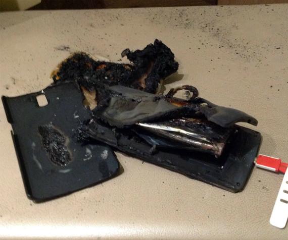 OnePlus One fire