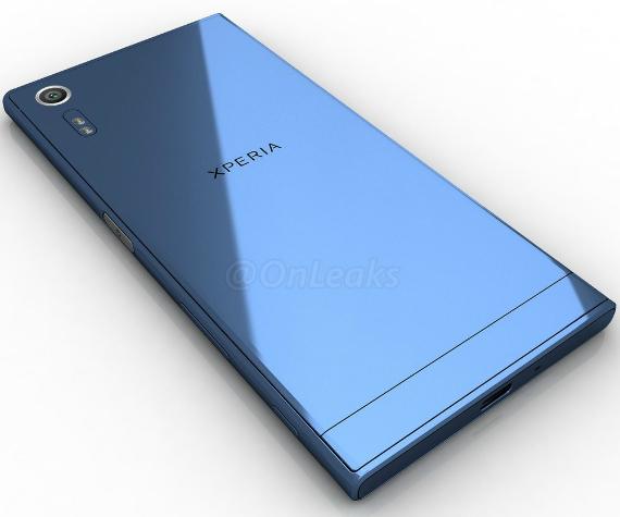Sony Xperia XR renders