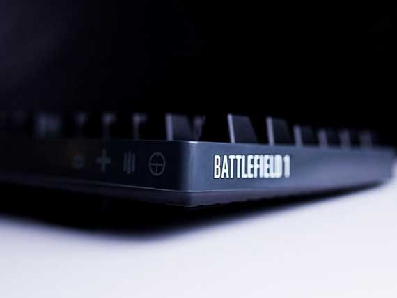 Logitech: Έρχεται νέο πληκτρολόγιο της σειράς G σε Battlefield edition