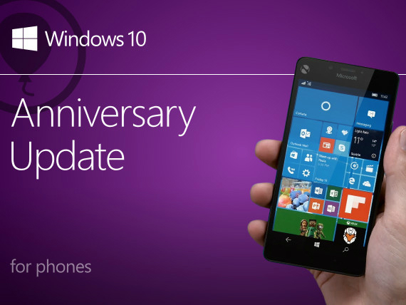 windows 10 anniversary mobile