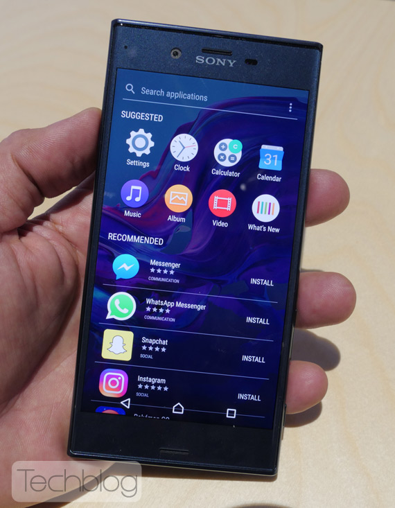 Sony Xperia XZ hands-on IFA 2016