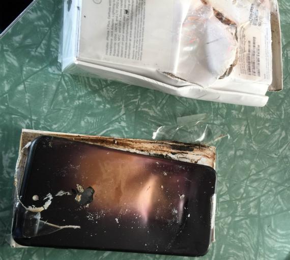 iphone 7 plus exploding