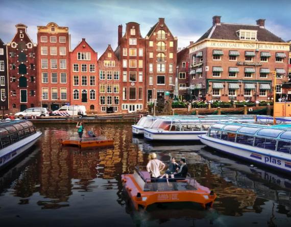 Το Άμστερνταμ θα δοκιμάσει αυτοκινούμενες βάρκες από το 2017