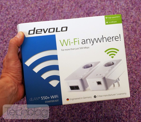 Devolo 550+ WiFi