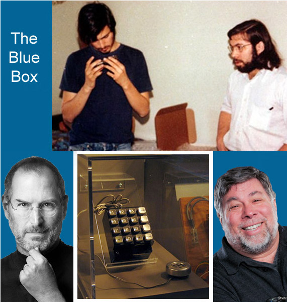 the blue box steve jobs