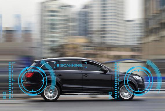 autonomous nxp bluebox platform car