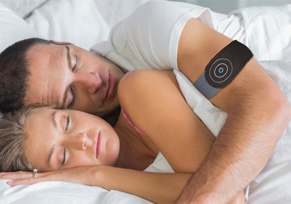 anti snore wearable
