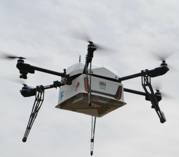 dominos drones