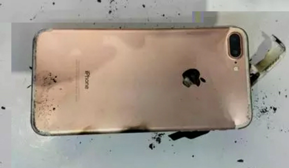 iphone 7 plus explodes