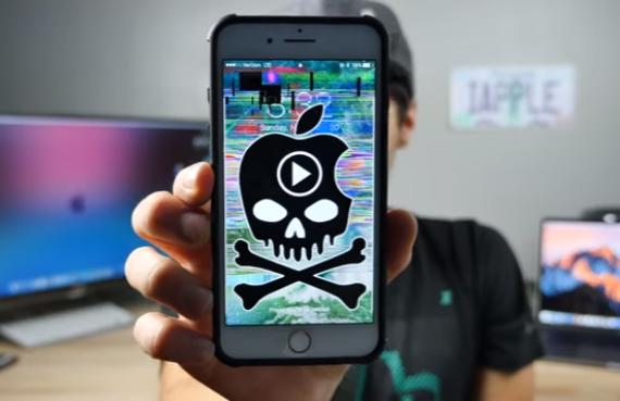iphone crashing bug