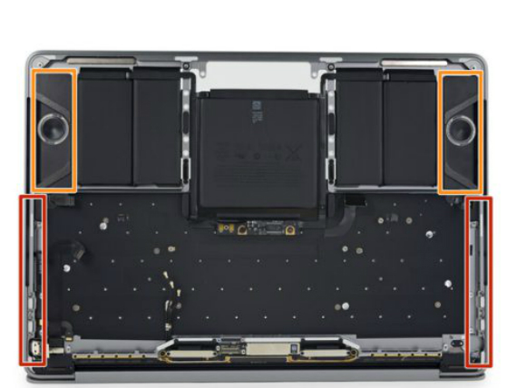 macbook pro speaker grills