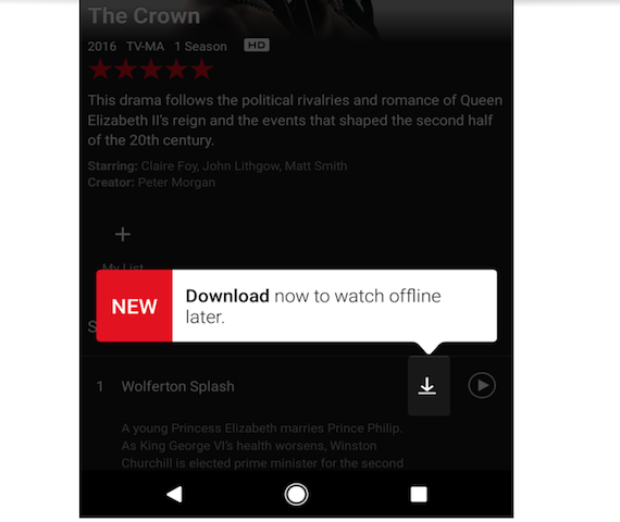 Netflix: Φέρνει το πολυαναμενόμενο offline playback