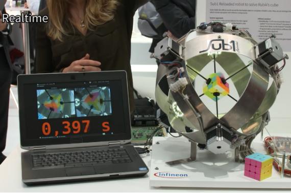 robot rubik cube