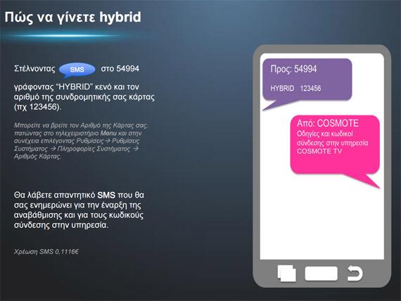 cosmote hybrid sms