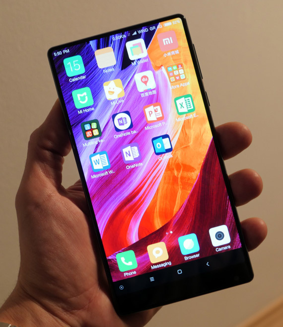 xiaomi mi mix hands-on techblogtv