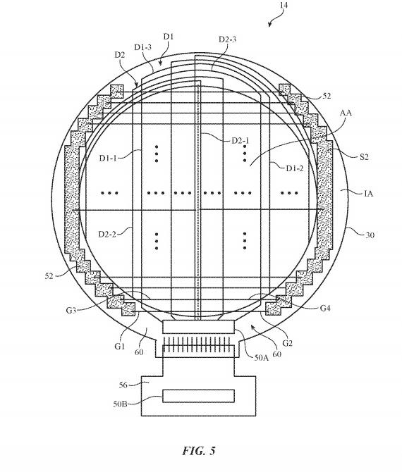 apple patent circular watch