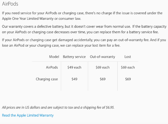 arpod warranty