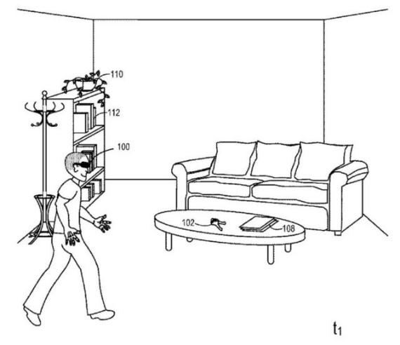 microsoft ar patent